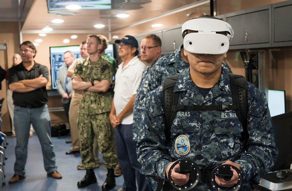 us navy vr tech - U.S. Navy Recruits Using Virtual Reality (VR) Technology