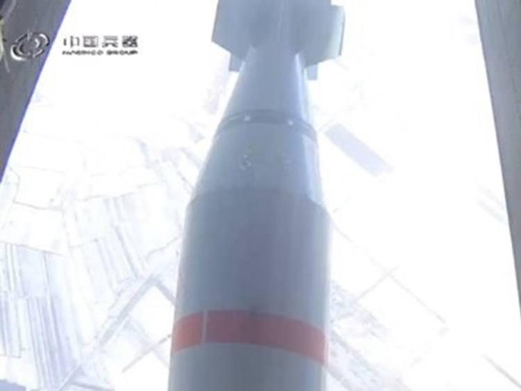 China reveals newest footage with its version of the 'Mother of All Bombs' 6