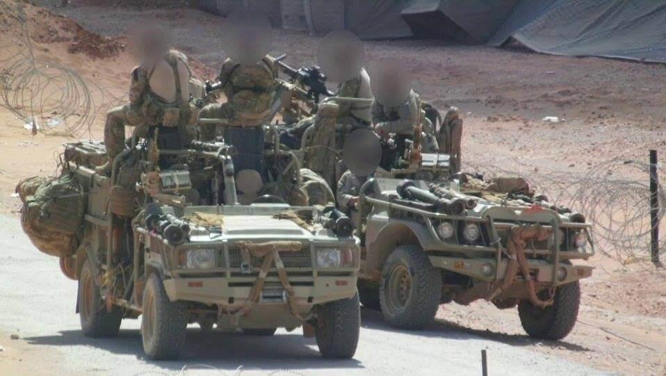 SAS operators allegedly filmed in Syria