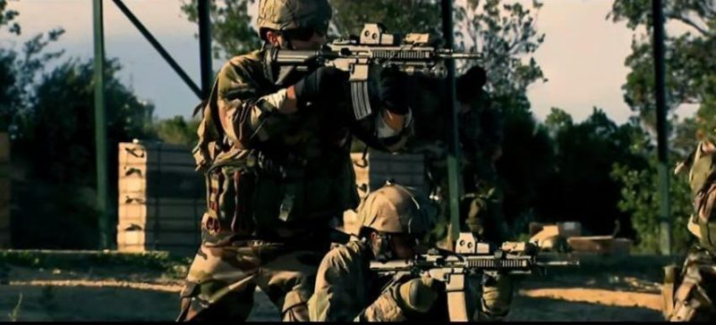 COS French Special Forces with HK416 rifles