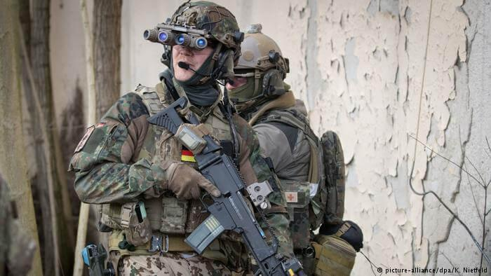 KSK commando - German KSK commando suspended for right-wing extremism
