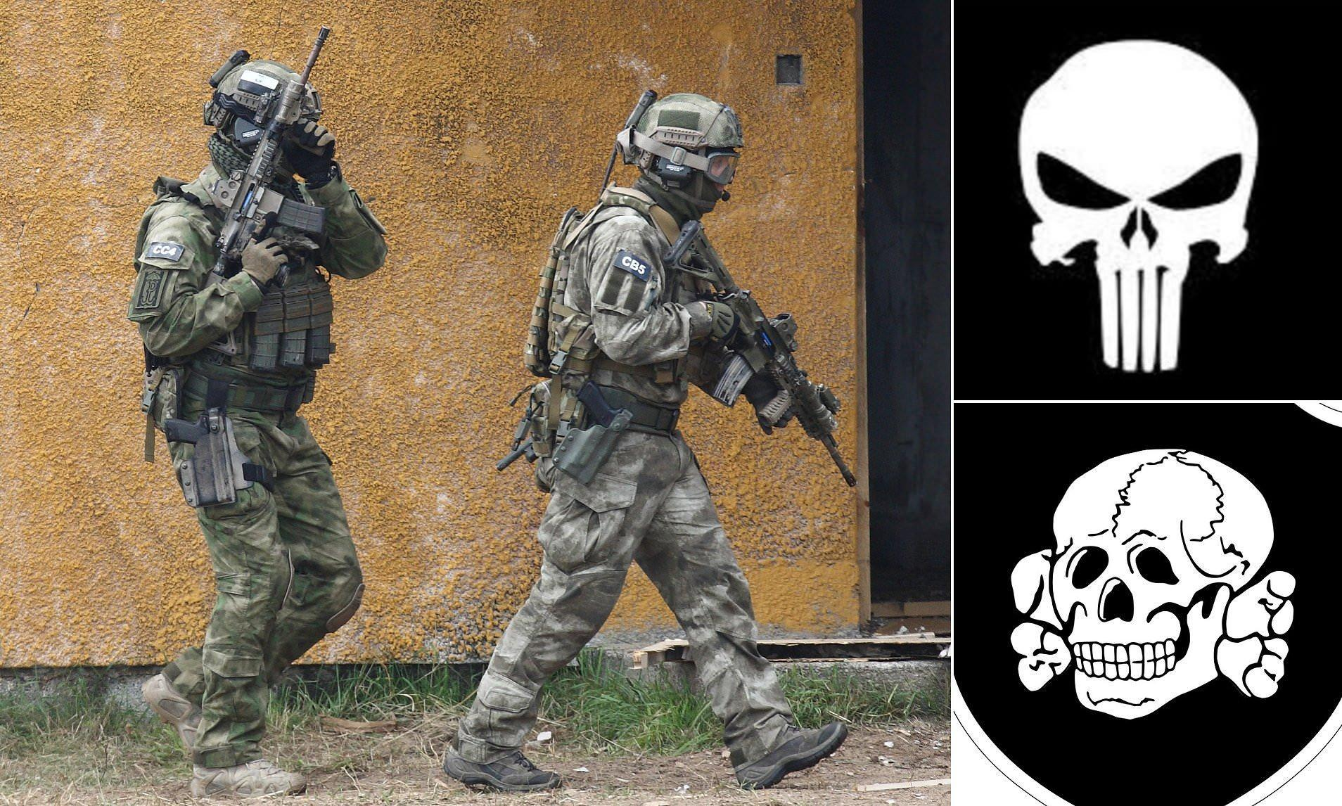 british sas punisher badge reportedly banned