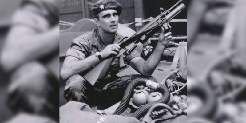 Richard Marcinko in his early military days