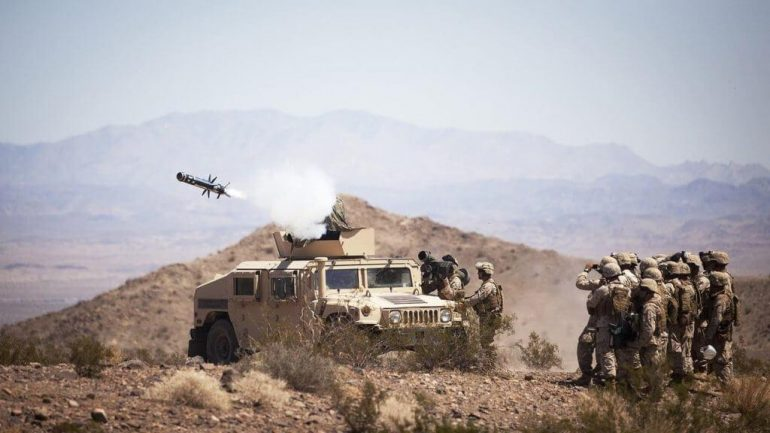 us marines firing rocket 770x433 - Marine Raider was awarded the Silver Star for taking out an ISIS car bomb