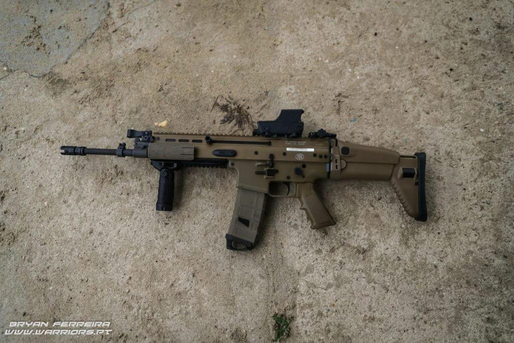 The FN SCAR is a standard-issue rifle in the Belgian Special Forces Group (SFG)
