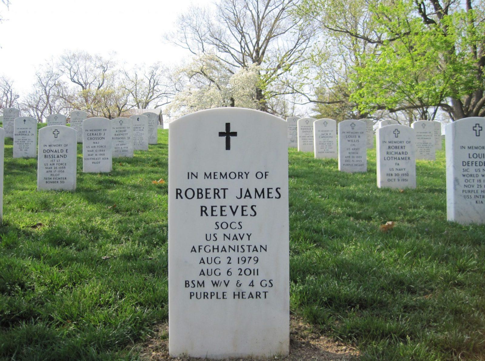 Navy SEAL Robert James Reeves Arlington National Cemetery