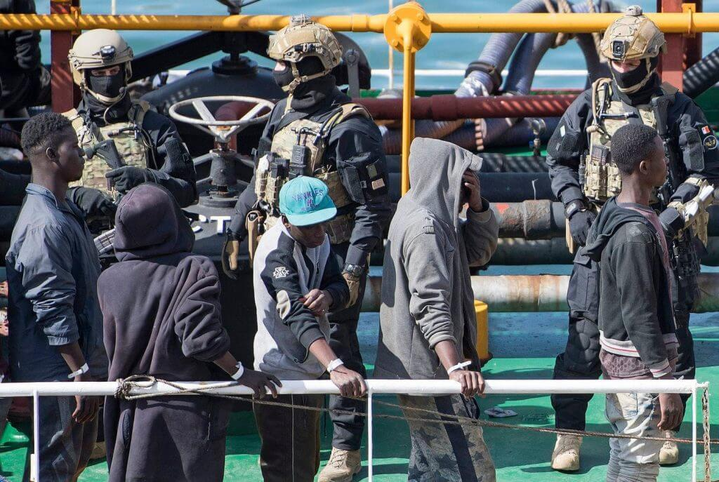 maltese special operations forces - Malta's special operaitons forces storm merchant ship taken over by migrants