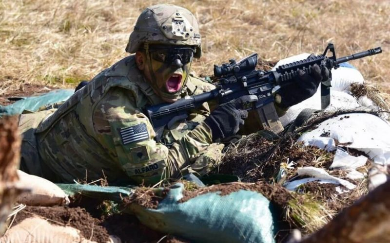 How many ammo does a soldier carry in a war or battle? 2020 image