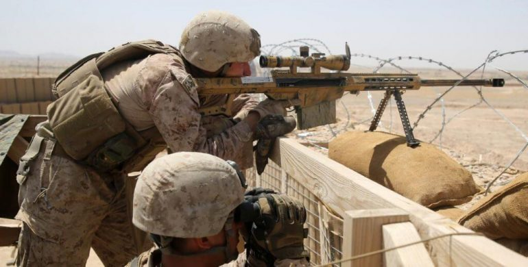 us sniper 770x390 - The U.S. Military's Ultimate Sniper: Armed with Laser-Guided Bullets
