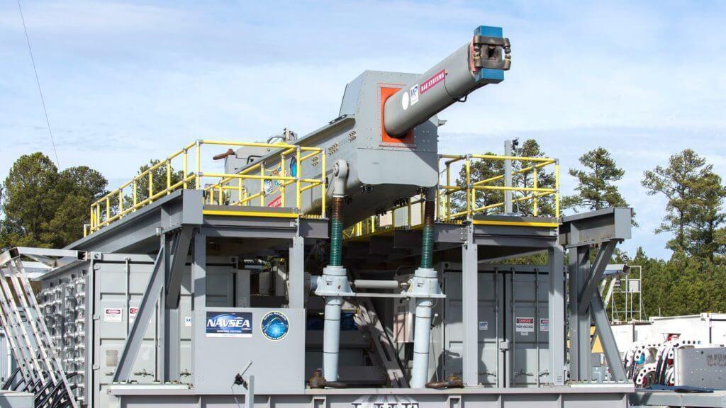 US Navy to Run First Sea Trials of RAILGUN 1