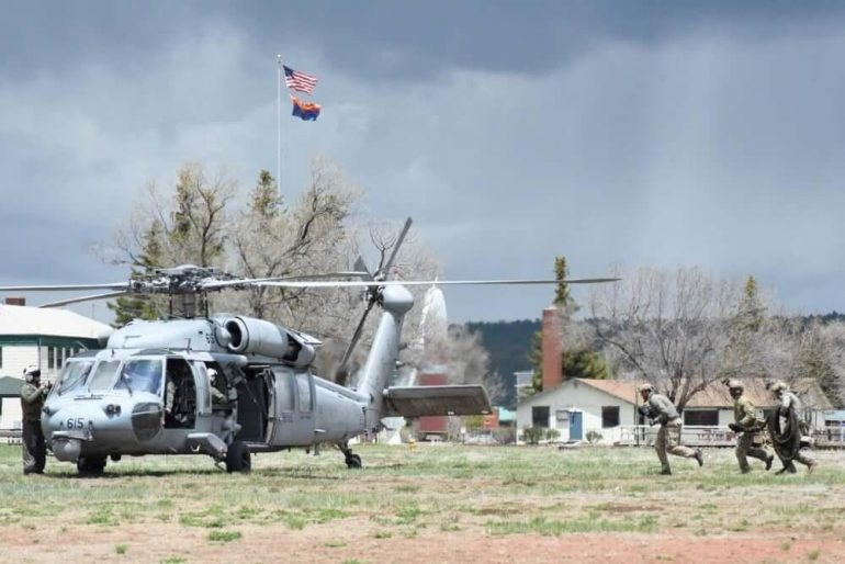 U.S. Special Forces Train Red Flag Rescue at Camp Navajo 1