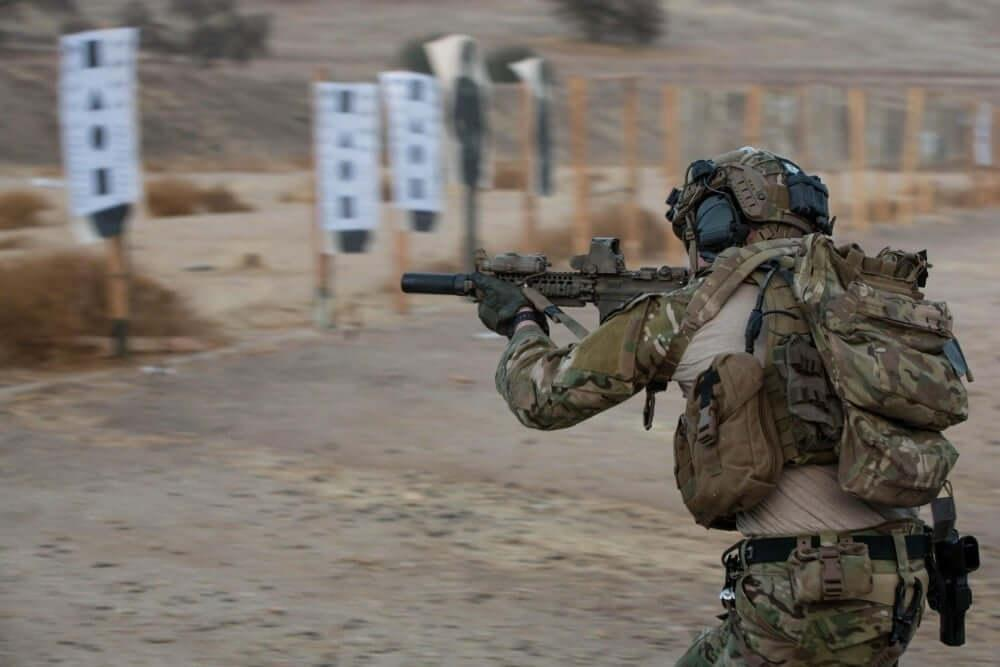 Shooting range is one of the most important factors for the SWAT training