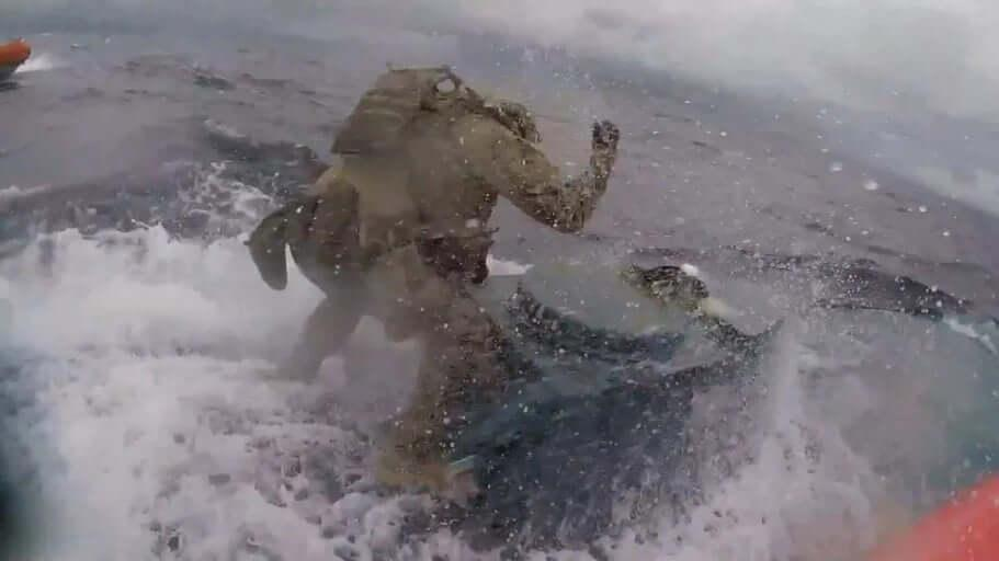 coast guard operator - US Coast Guard Storms Narco Submarine Carrying $600 Million Worth Drugs