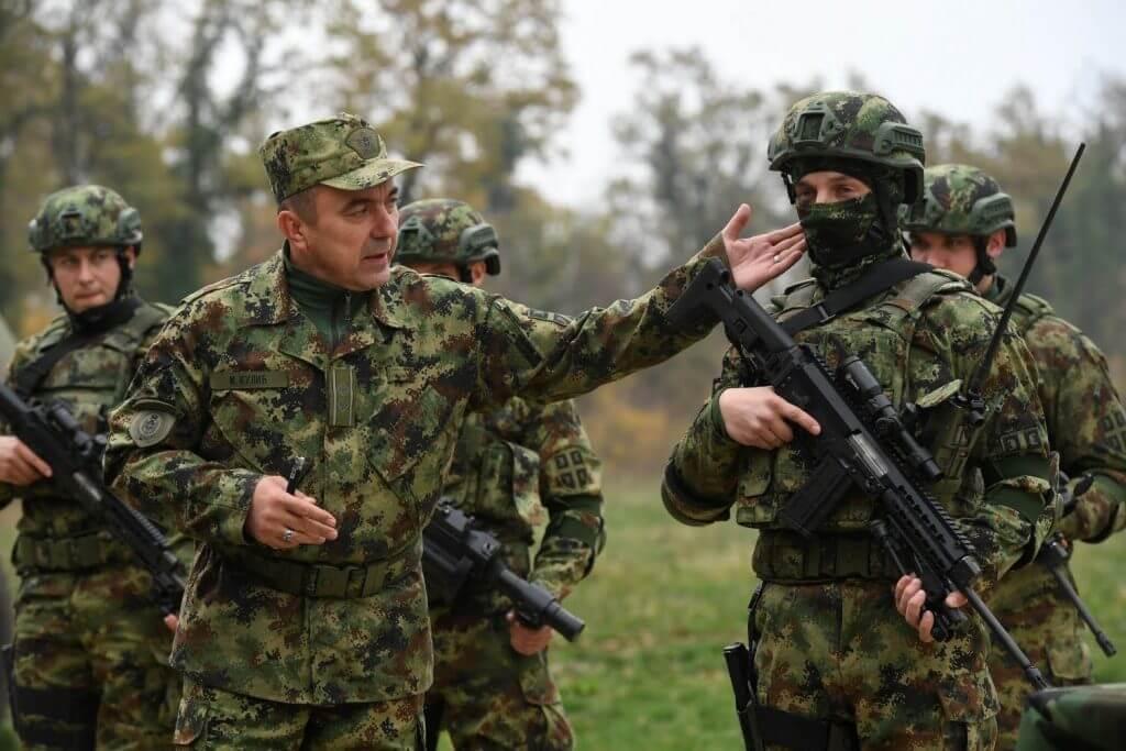 The new M17 assault rifle by Zastava Arms (Photo: Serbian MoD)