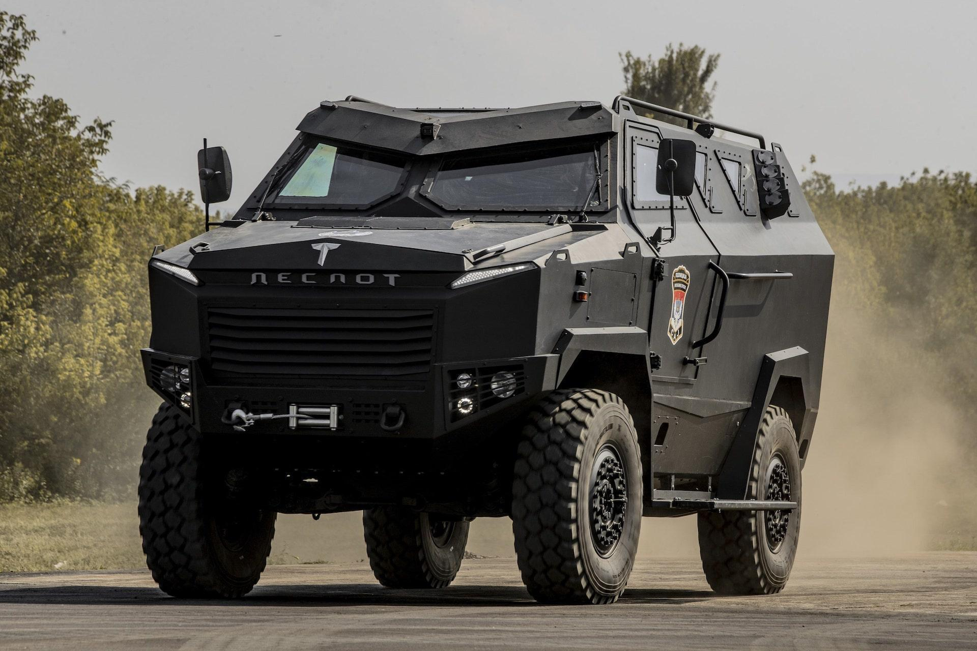 TRB Despot APC was designed and manufactured in TRB, Bosnia and Herzegovina