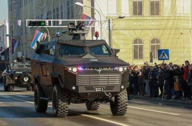APC Despot - 4x4 mine-resistant ambush-protected vehicle