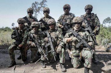 Portuguese Army Special Operations Forces (PRT SOF) with FN SCARs and FN Minimi