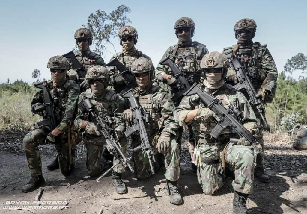 Portuguese Military - Special Operations and Elite Units