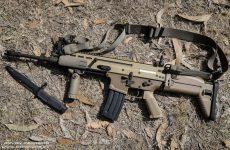 FN SCAR is a Portuguese Army New Service Rifle