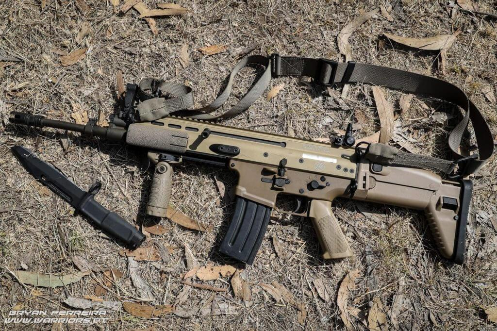 FN SCAR is a Portuguese Army's New Service Rifle