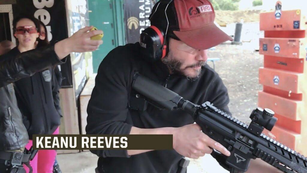 John Wick Firearms Training With Training Tactical