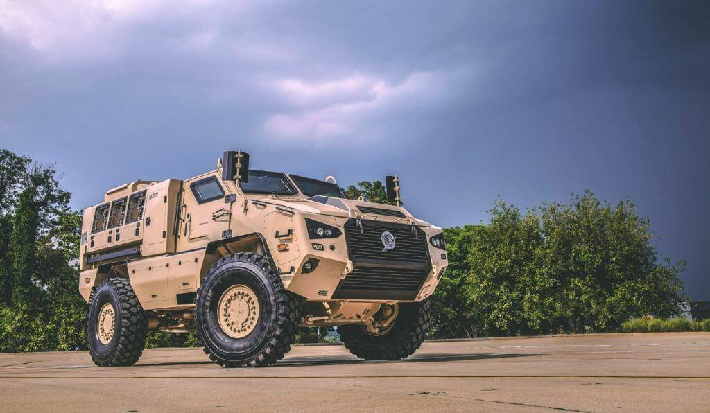 Mbombe 4 APC recognized as one of the world's best protected armored vehicles 3