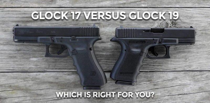 Glock 19 vs Glock 17 Navy SEALs pistol of choice