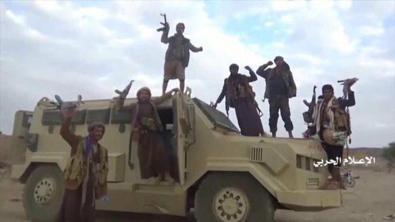 "Houthi rebels claim that they have captured ""three Saudi brigades"" in Yemen 1"