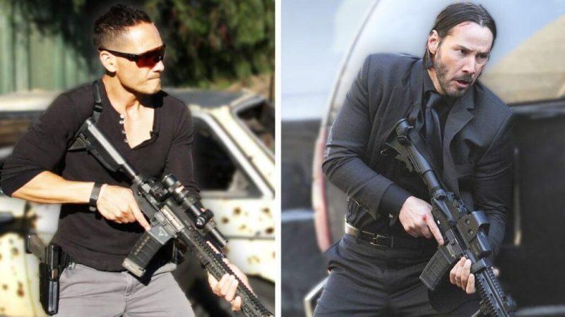 Regular people trained to shoot guns like John Wick 2