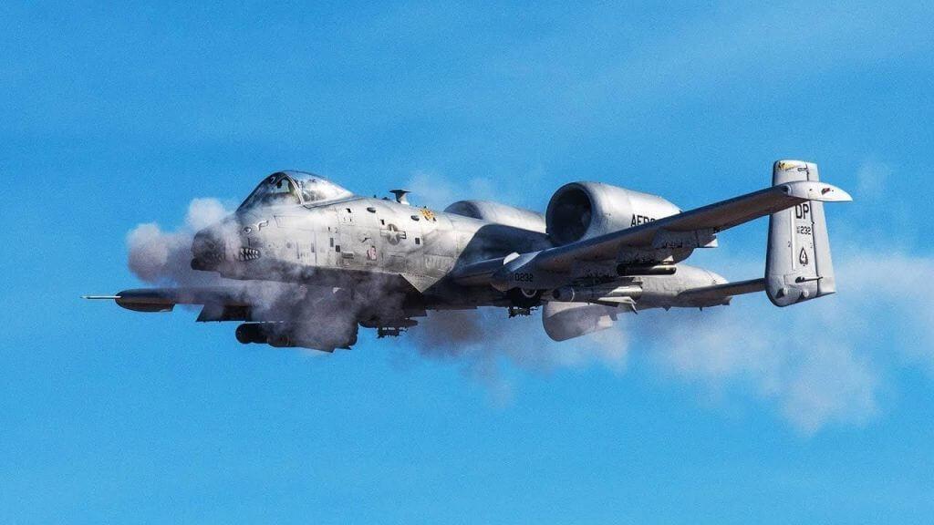 USAF A-10 accidentally fires rocket near Tucson on training mission 4