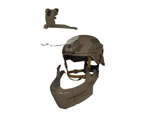 3M Ballistic Helmet F70