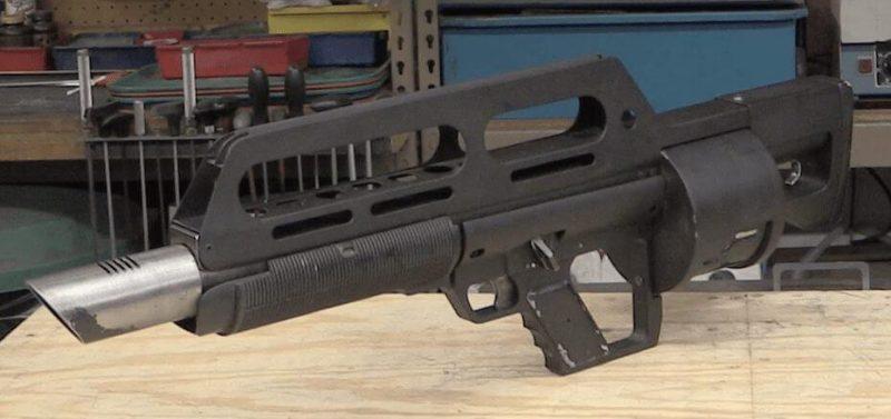 Jackhammer combat shotgun - the unique automatic shotgun 2