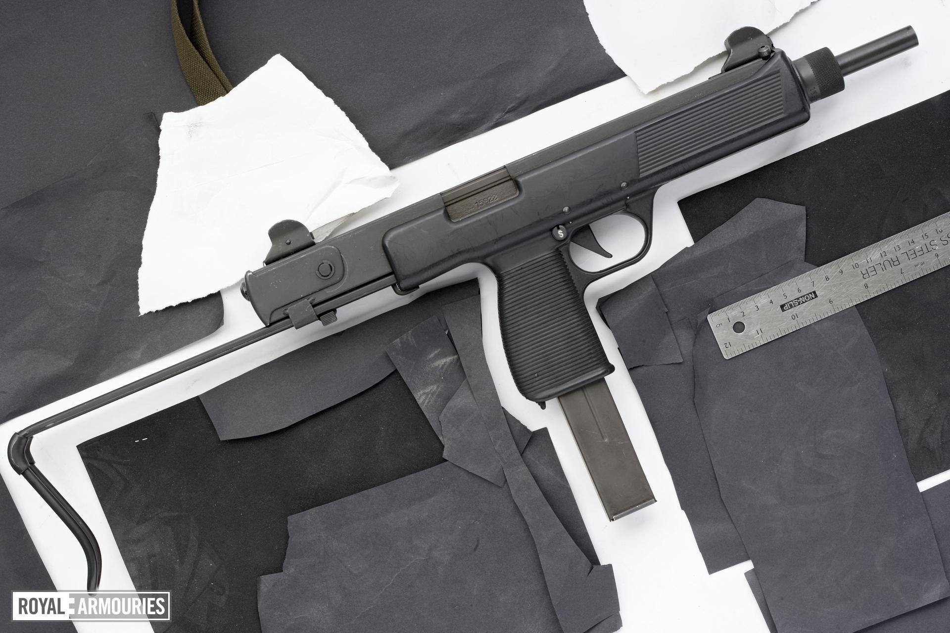 Steyr MPi 69 is a submachine gun that looks like legendary UZI