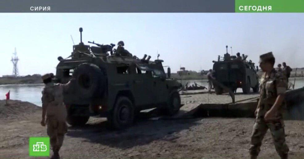 Russian Special Forces setup border crossing in Euphrates River Valley 3