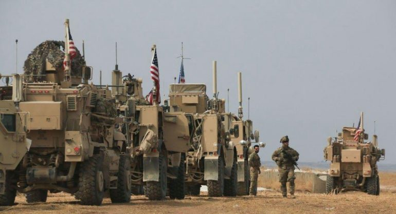 U.S. Special Operations Forces on their way back to northern Syria 1