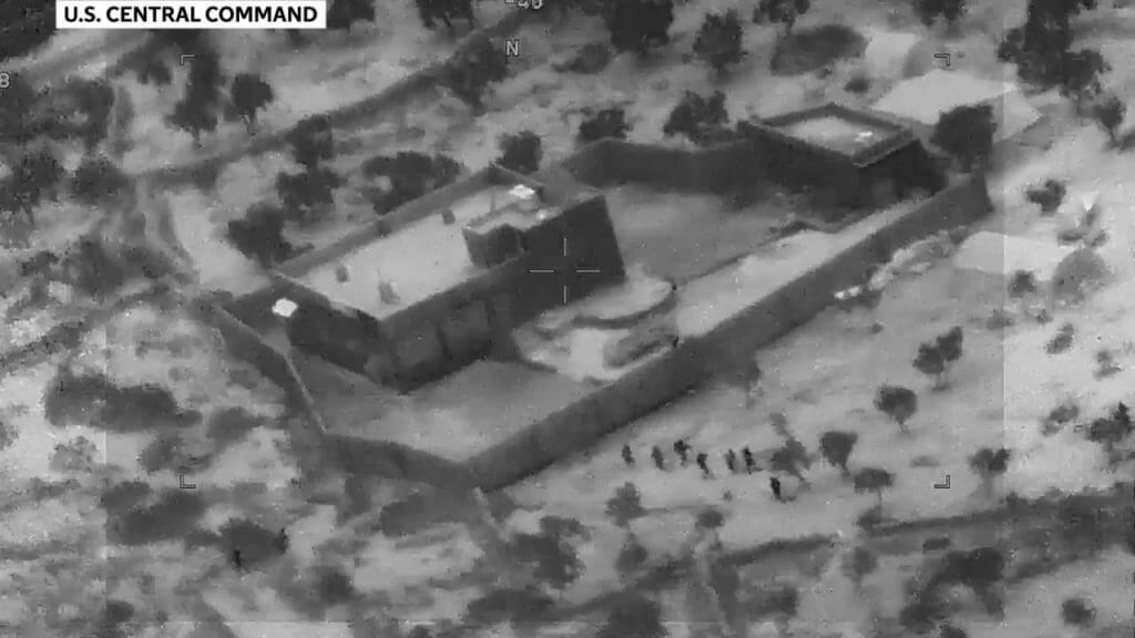 Video of raid on al-Baghdadi compound (Photo: U.S. Central Command)