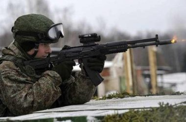 Russian Spetznas received a new batch of Kalashnikov AK-12 assault rifles 2
