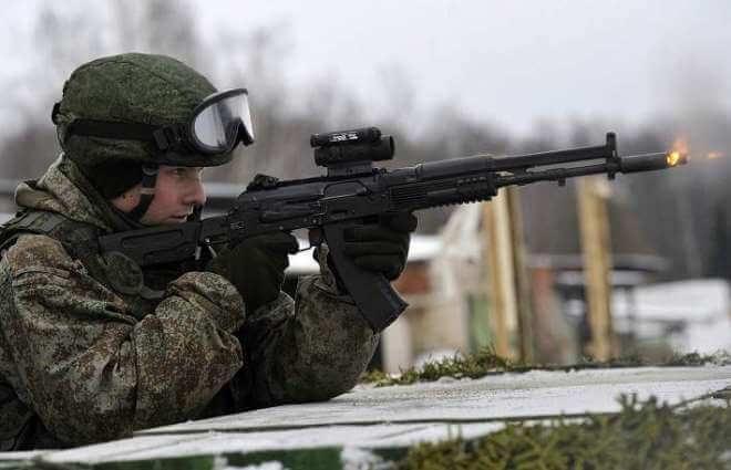 Russian Spetznas received a new batch of Kalashnikov AK-12 assault rifles 12