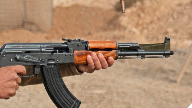 The most famous assault rifle in the world AK-47