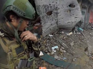 Battle of Marawi Helmet Cam