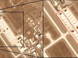 Satellite Images Captured 12 Mystery Vehicles at Secret US Air Base 2020 image