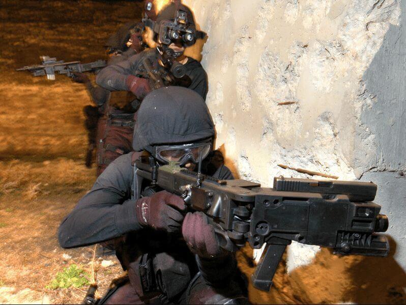 cornershot israel special forces
