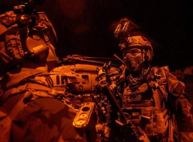 U.S. Special Operations Forces Night Operation