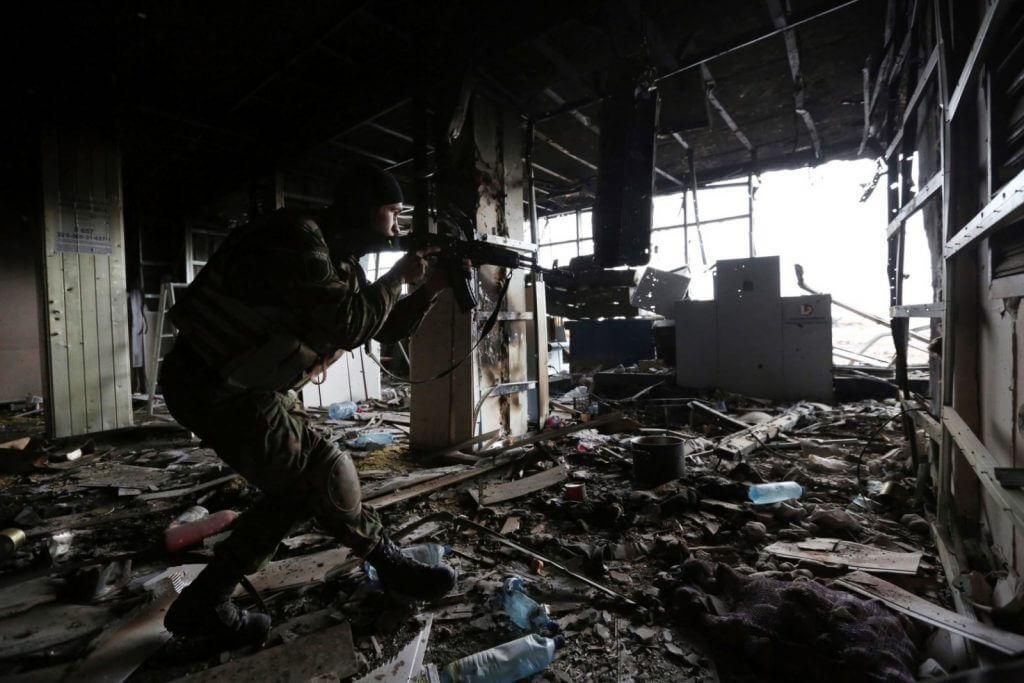 Battle for the Donetsk airport - inside story 14