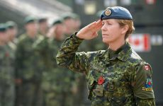 Canadian female soldiers