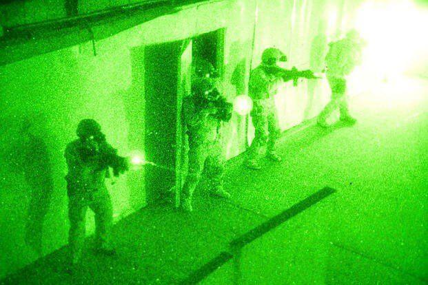No-Light Live-ammunition exercise Navy SEALs San Diego