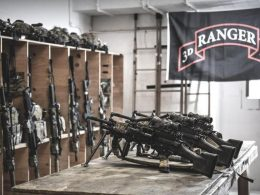 75th Rangers Regiment Team Room in Afghanistan