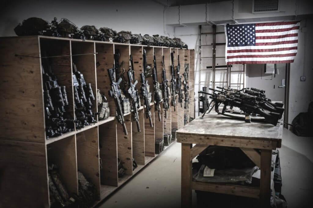 Army Rangers Team Room Afghanistan Armory