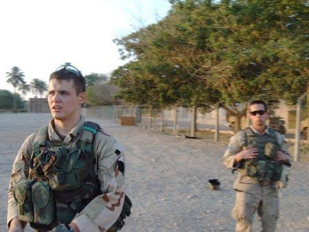 Sommer and Olinger in Iraq 2004