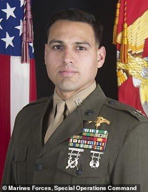 Capt. Moises Navas killed in firefight in Iraq on Sunday 03/08/2020